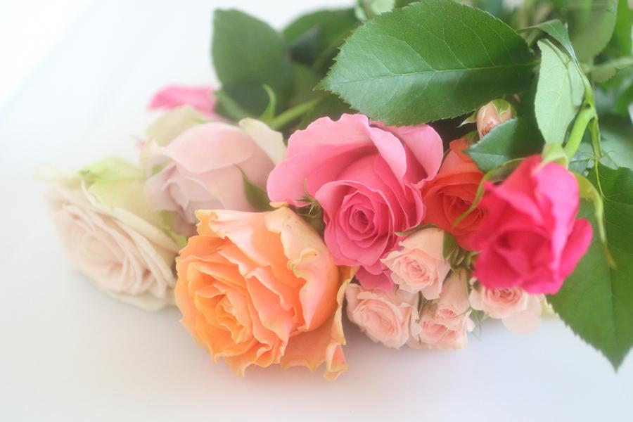 バラの花束のイメージ画