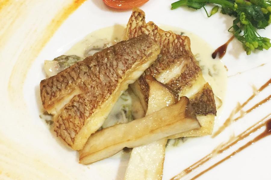 本日の魚料理のイメージ画