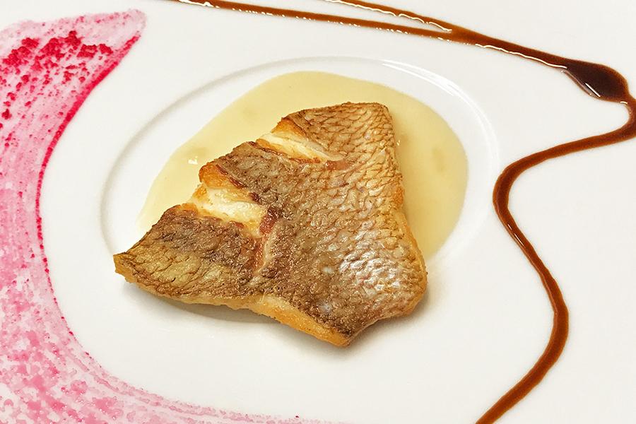 本日の魚料理のメニュー写真