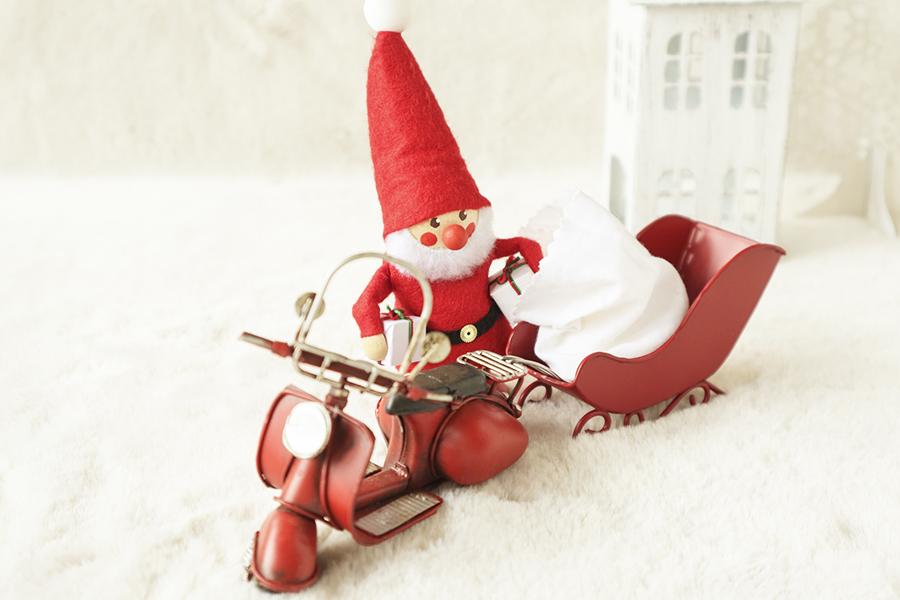 サンタクロースのイメージ写真