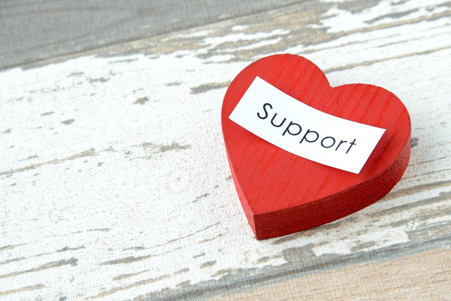 支援のイメージ写真