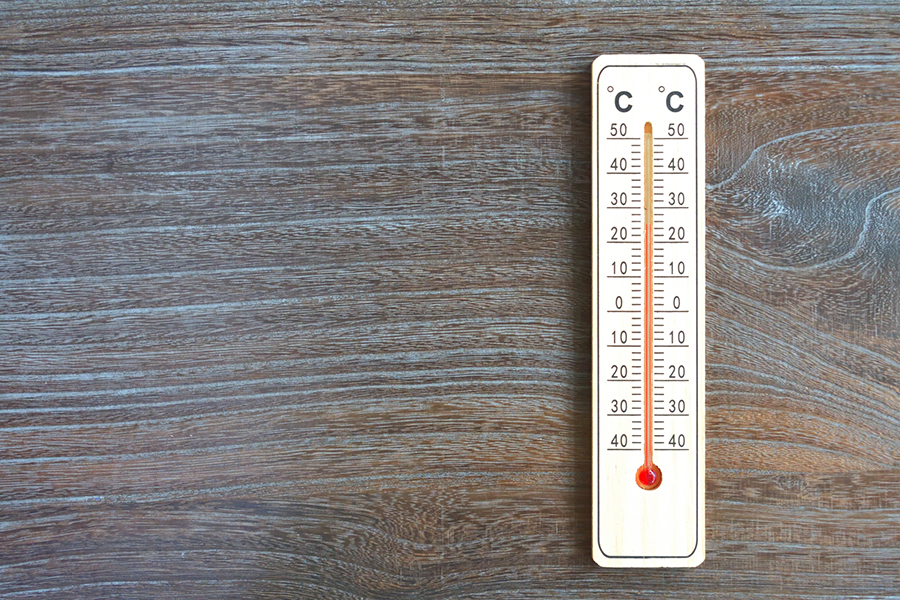 温度計のイメージ写真