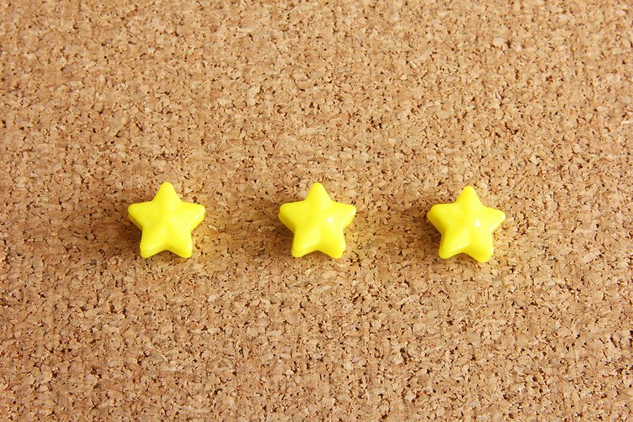 三つ星のイメージ写真
